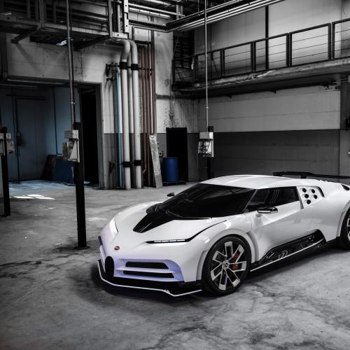 Bugatti Centodieci | les photos officielles
