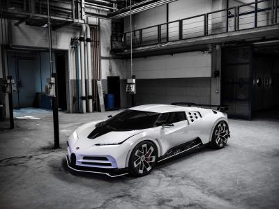 Bugatti Centodieci | les photos officielles