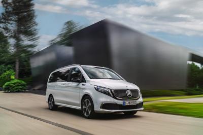 Mercedes EQV | les photos officielles du van électrique