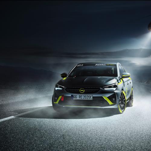 Opel Corsa-e Rally   les photos officielles de la voiture de rallye électrique