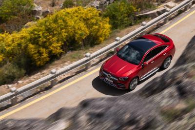 Mercedes GLE Coupé | les photos officielles