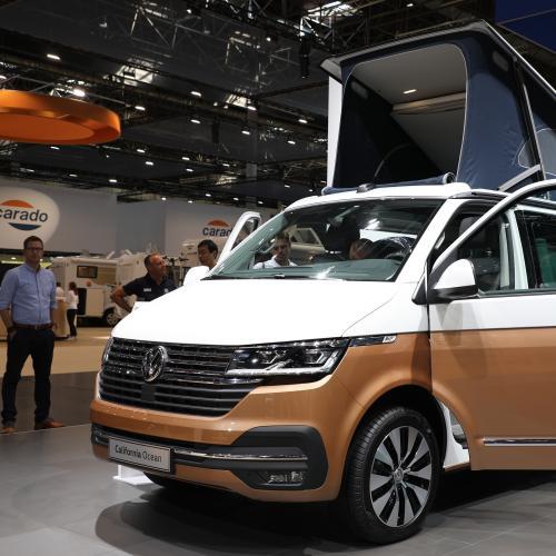 Le Volkswagen California 6.1 à Dusseldorf 2019 | nos photos des versions Beach Camper, Beach Tour et Ocean