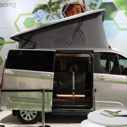 Dethleffs Globevan e hybrid   nos photos au Salon du Camping-car de Dusseldorf