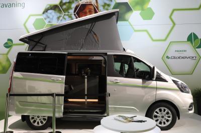 Dethleffs Globevan e hybrid | nos photos au Salon du Camping-car de Dusseldorf