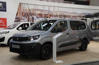 Peugeot Partner Alpin Camper | Nos photos du véhicule de loisir au salon de Düsseldorf 2019