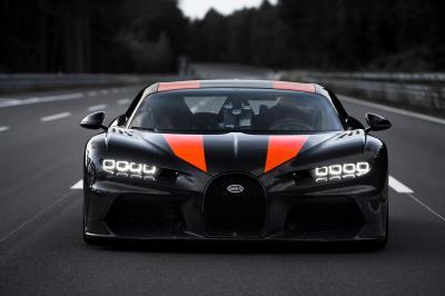 Bugatti Chiron | Les photos du modèle allongé pour le record de vitesse