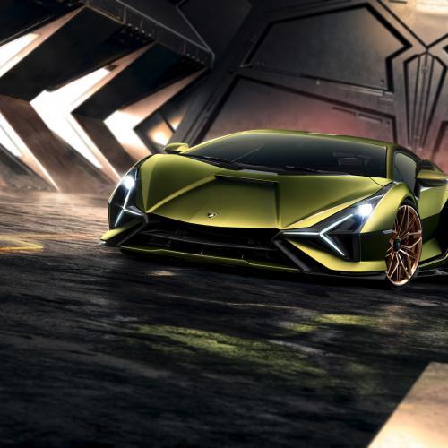 Lamborghini Sián   Toutes les photos de la supercar hybride