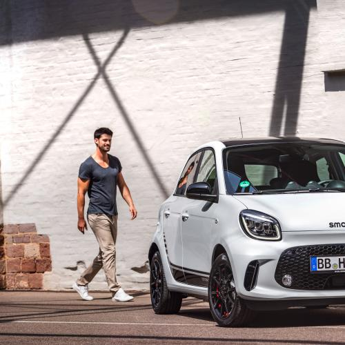 Smart EQ | les photos officielles des Smart EQ Fortwo, Fortwo Cabrio et Forfour