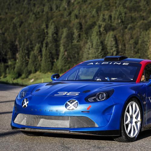 Alpine A110 Rallye | les photos officielles