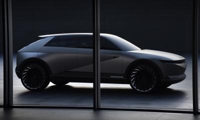 Hyundai 45 EV Concept | les photos officielles du concept électrique