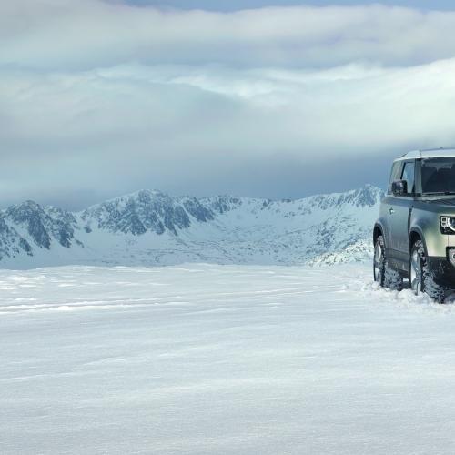 Land Rover Defender   les photos officielles de la nouvelle génération