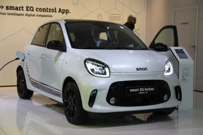 Smart EQ Forfour | nos photos au Salon de Francfort 2019