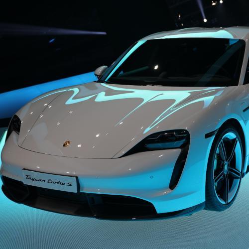 Porsche Taycan   nos photos du Salon de Francfort 2019