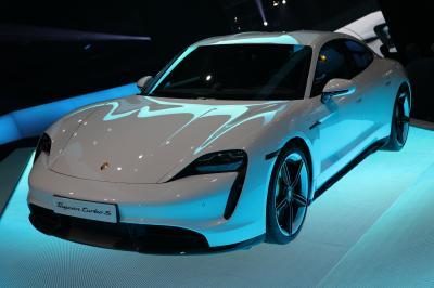 Porsche Taycan | nos photos du Salon de Francfort 2019