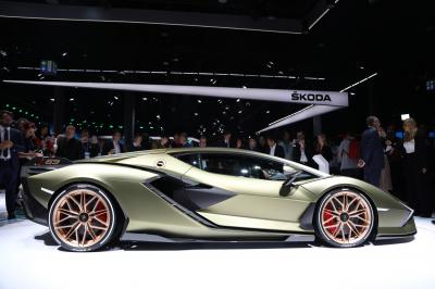 Lamborghini Sian | nos photos au Salon de Francfort 2019