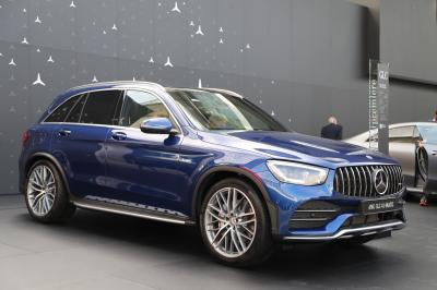 Mercedes-AMG GLC 43 Coupé restylé | nos photos au Salon de Francfort 2019