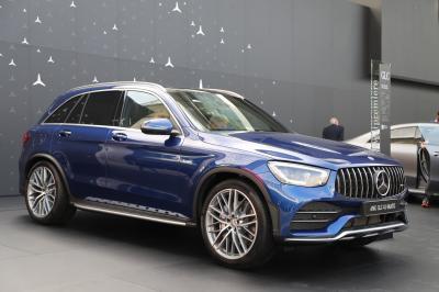 Mercedes-AMG GLC 43 Coupé restylé | nos photos au Salon de Francfort 2019