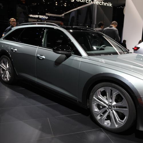 Audi A6 Allroad   nos photos au Salon de Francfort 2019