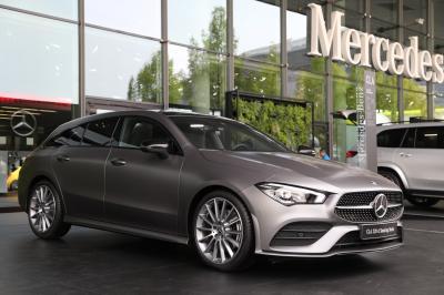 Mercedes Classe CLA Shooting Brake | nos photos au Salon de Francfort 2019