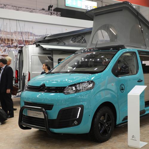 Citroën Campster Cult by Possl | nos photos au Caravan Salon 2019