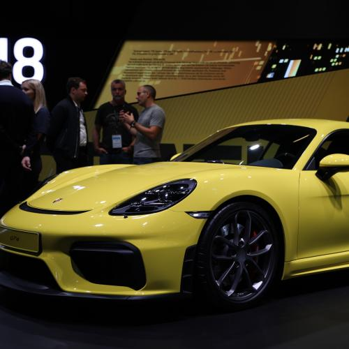 Porsche 718 Cayman GT4 | nos photos au Salon de Francfort 2019