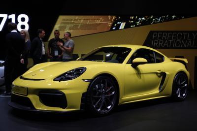 Porsche 718 Cayman GT4 | nos photos au Salon de Francfort 2019