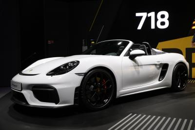 Porsche 718 Spyder | nos photos au Salon de Francfort 2019