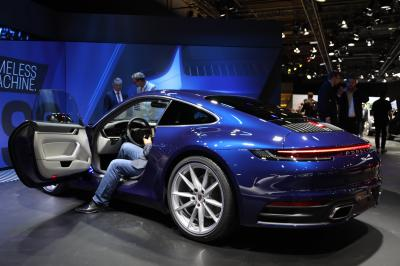 Porsche 911 Carrera 992 | nos photos au Salon de Francfort 2019