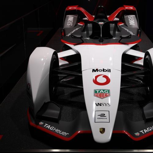 Formule E Porsche 99X   nos photos au Salon de Francfort 2019