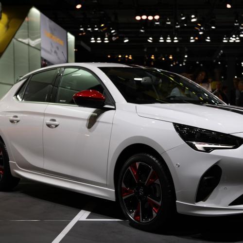 Opel Corsa   nos photos au Salon de Francfort 2019