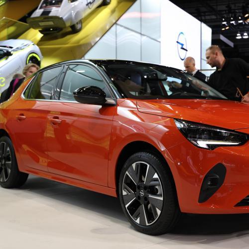 Opel Corsa-e   nos photos au Salon de Francfort 2019