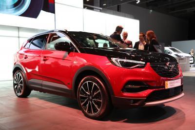 Opel Grandland X Hybrid4 | nos photos au Salon de Francfort 2019