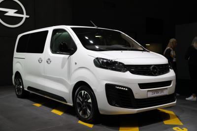 Opel Zafira Life | nos photos au Salon de Francfort 2019