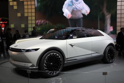 Hyundai 45 EV Concept | nos photos au Salon de Francfort 2019