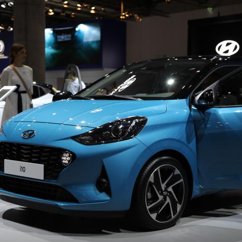 Hyundai i10 | nos photos au Salon de Francfort 2019