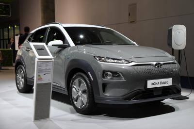 Hyundai Kona Elektro | nos photos au Salon de Francfort 2019
