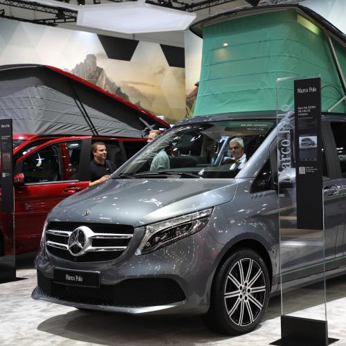Mercedes Marco Polo ArtVenture   nos photos au Caravan Salon 2019