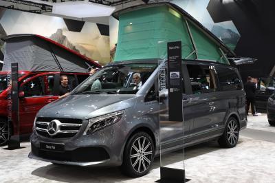 Mercedes Marco Polo ArtVenture | nos photos au Caravan Salon 2019