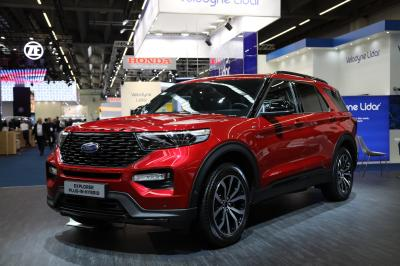 Ford Explorer Plug-in Hybrid | nos photos au Salon de Francfort 2019