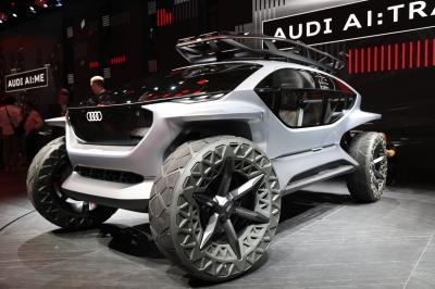 Audi AI:Trail Quattro | nos photos du concept au Salon de Francfort