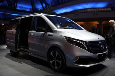 Mercedes EQV | nos photos au Salon de Francfort 2019