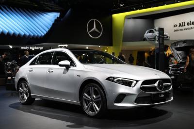 Mercedes A 250 e EQ Power Limousine | nos photos au Salon de Francfort