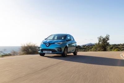 Renault Zoe 2 | les photos officielles de l'essai