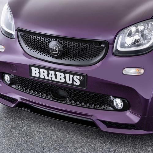 Smart Brabus Ultimate E   les photos officielles de la Smart préparée