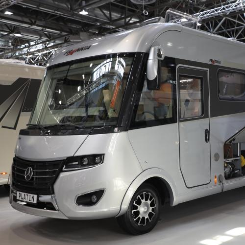 Frankia 7900 GD Platin   nos photos du camping-car au Caravan Salon 2019