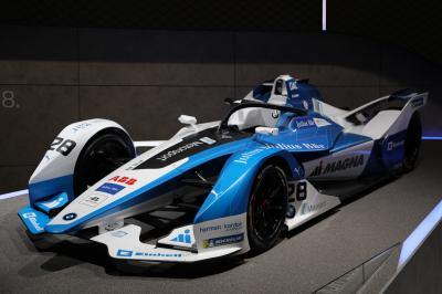 Formule E   nos photos de la BMW i Andretti Motorsport au Salon de Francfort 2019