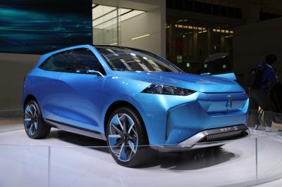 Wey-S   Nos photos du concept-car chinois au Salon de Francfort 2019