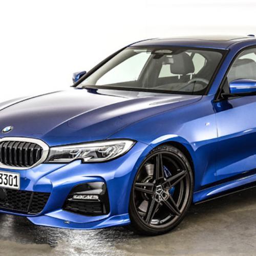 BMW Série 3 G20   Les photos des éléments esthétiques proposés par AC Schnitzer sur la berline allemande