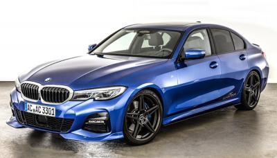 BMW Série 3 G20 | Les photos des éléments esthétiques proposés par AC Schnitzer sur la berline allemande
