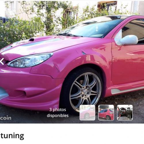 "Top 10 des véhicules ""Jacky tuning"" sur leboncoin"